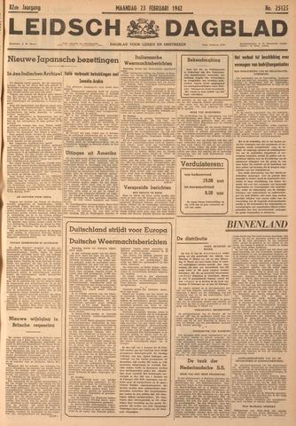 Leidsch Dagblad 1942-02-23
