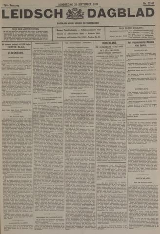 Leidsch Dagblad 1935-09-26