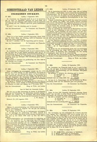 Handelingen van de Raad 1911-09-01