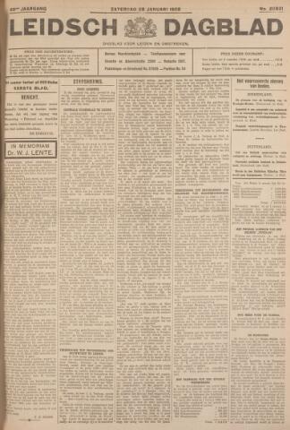 Leidsch Dagblad 1928-01-28