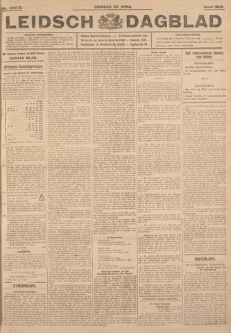 Leidsch Dagblad 1926-04-20
