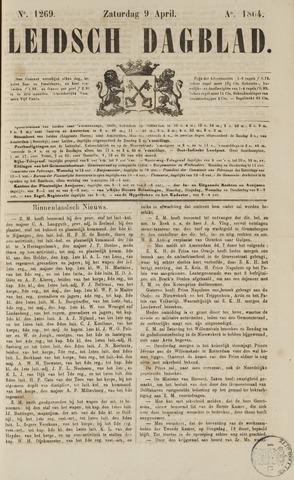 Leidsch Dagblad 1864-04-09