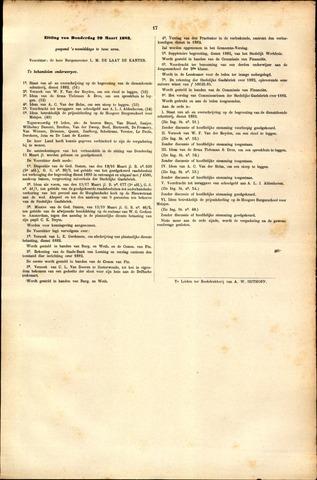 Handelingen van de Raad 1883-03-29