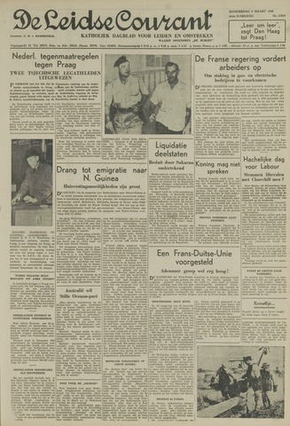 Leidse Courant 1950-03-09