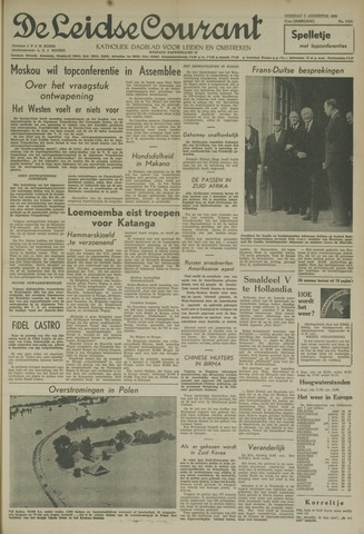 Leidse Courant 1960-08-02