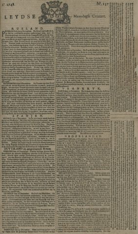Leydse Courant 1748-12-30