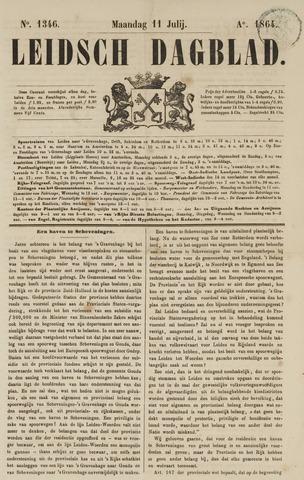 Leidsch Dagblad 1864-07-11