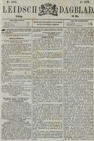 Leidsch Dagblad 1876-05-26