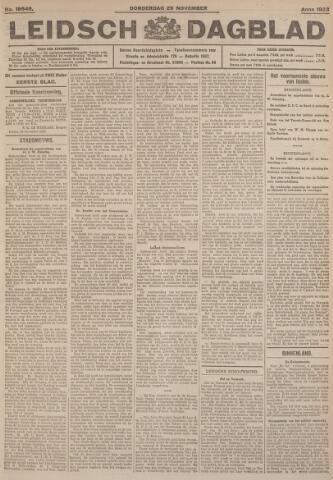 Leidsch Dagblad 1923-11-29