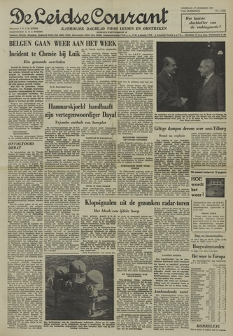 Leidse Courant 1961-01-17