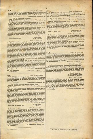 Handelingen van de Raad 1879-01-16