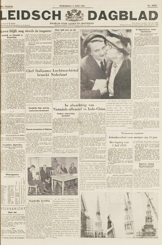 Leidsch Dagblad 1954-06-02