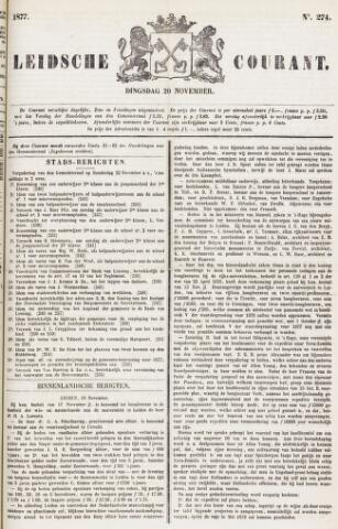 Leydse Courant 1877-11-20