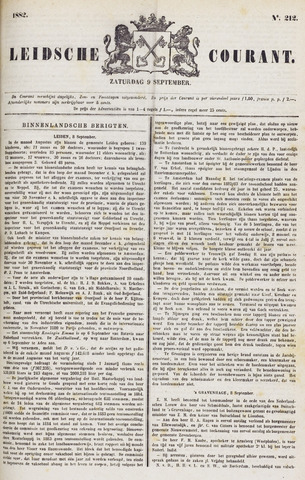 Leydse Courant 1882-09-09