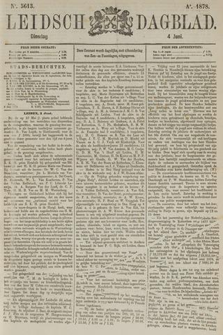 Leidsch Dagblad 1878-06-04