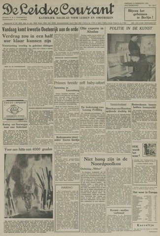 Leidse Courant 1954-02-12