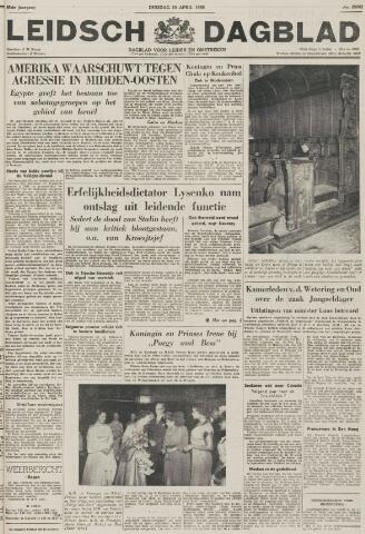 Leidsch Dagblad 1956-04-10
