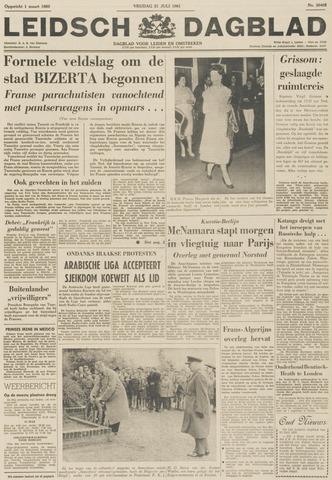 Leidsch Dagblad 1961-07-21