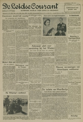 Leidse Courant 1952-07-10