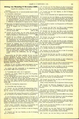 Handelingen van de Raad 1928-12-17