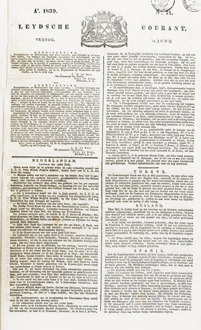 Leydse Courant 1839-06-14