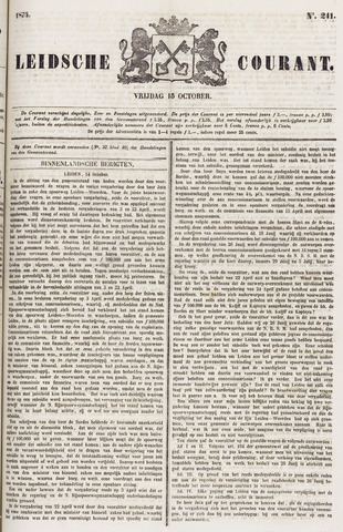 Leydse Courant 1875-10-15
