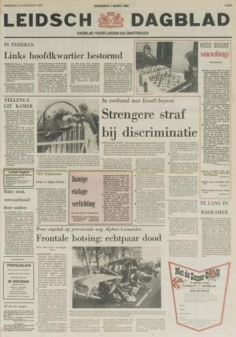 Leidsch Dagblad 1979-08-13