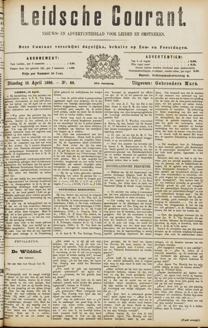 Leydse Courant 1890-04-15