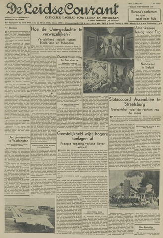 Leidse Courant 1949-09-09