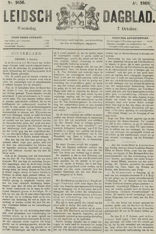 Leidsch Dagblad 1868-10-07