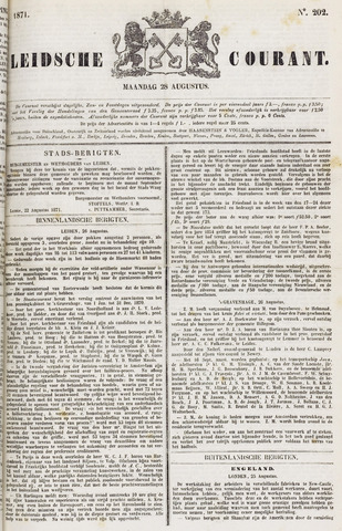 Leydse Courant 1871-08-28