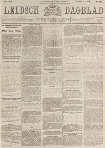 Leidsch Dagblad 1916-11-01