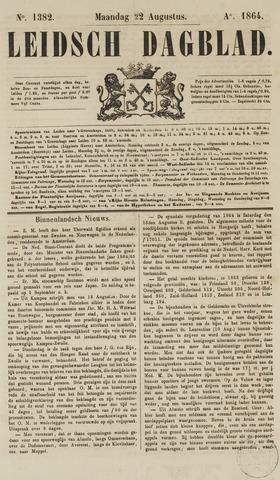 Leidsch Dagblad 1864-08-22