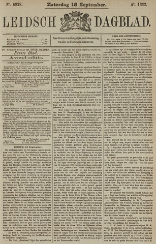 Leidsch Dagblad 1882-09-16