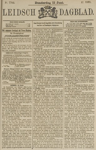 Leidsch Dagblad 1885-06-11