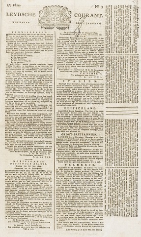 Leydse Courant 1824-01-07