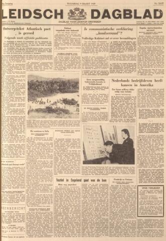 Leidsch Dagblad 1949-03-09