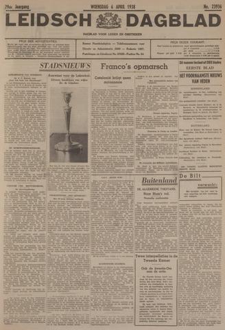 Leidsch Dagblad 1938-04-06