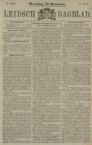 Leidsch Dagblad 1882-11-29