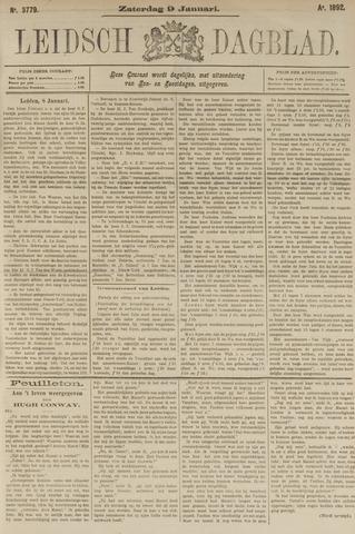Leidsch Dagblad 1892-01-09