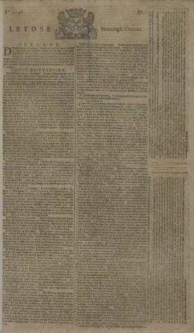 Leydse Courant 1746