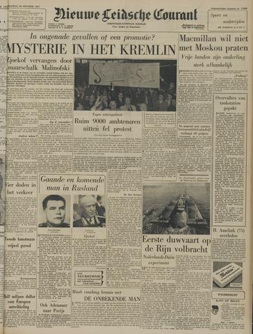 Nieuwe Leidsche Courant 1957-10-28