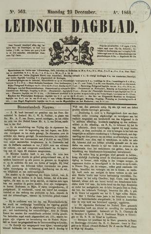Leidsch Dagblad 1861-12-23
