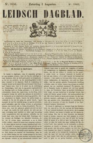 Leidsch Dagblad 1863-08-01