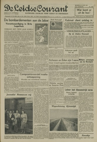 Leidse Courant 1952-06-25