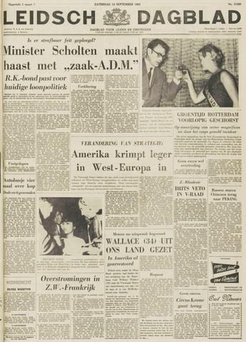 Leidsch Dagblad 1963-09-14