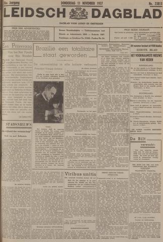 Leidsch Dagblad 1937-11-11