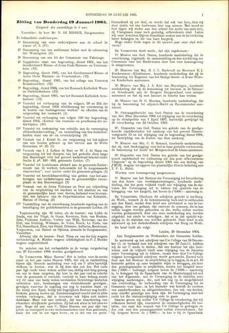 Handelingen van de Raad 1905-01-19