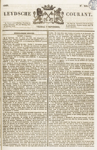 Leydse Courant 1860-09-07