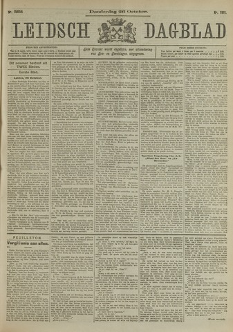 Leidsch Dagblad 1911-10-26
